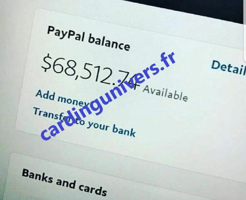 cardingunivers.fr Shop carding shop Carding Shop solde paypal